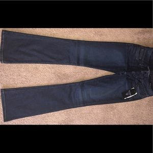 Guess Boot Leg Jeans with rhinestone details